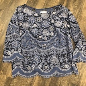 Anthropologie Laced Blouse